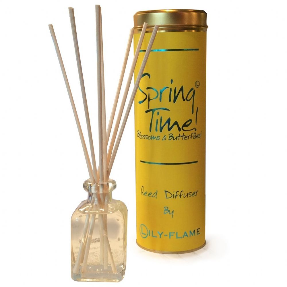 Lily-Flame Reed Diffuser - Spring Time 100ml